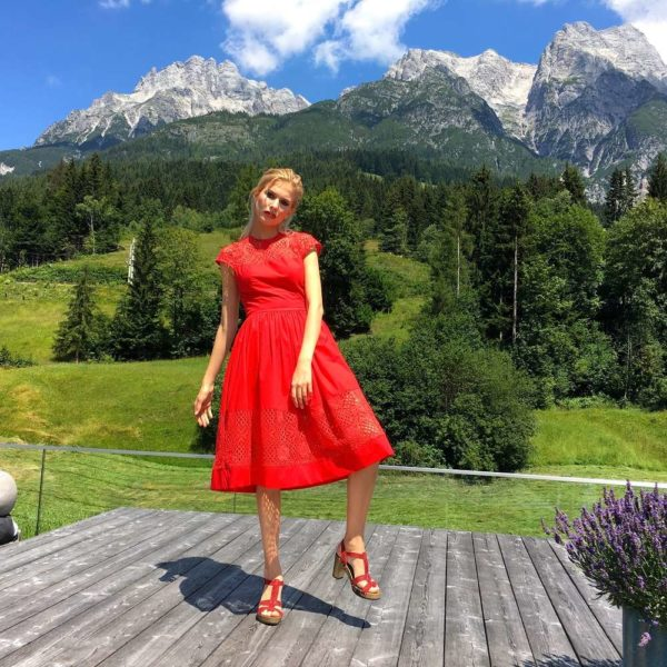 Red Dress Giulia von Juli von CS